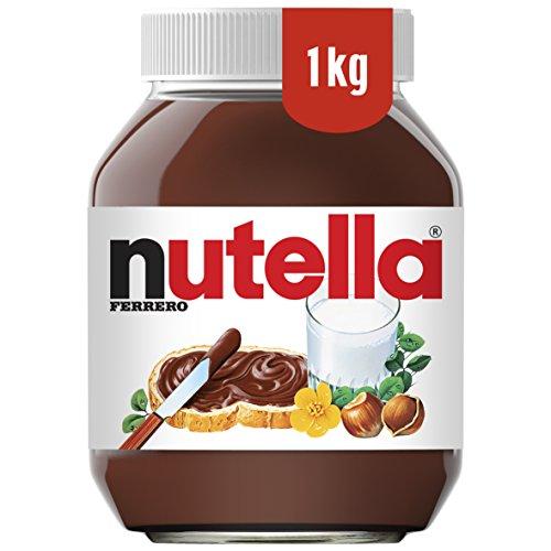 Nutella Hazelnut Chocolate Spread, 1 kg, Pack of 2