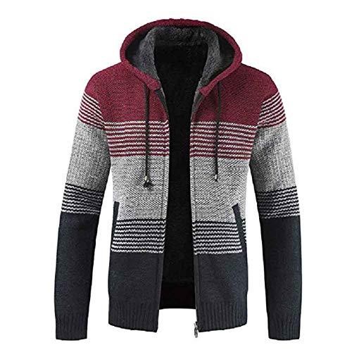 Herfst- en wintertrui vest plus fluwelen dikke trui lange mouwen ademend gebreid ontwerp warme trui