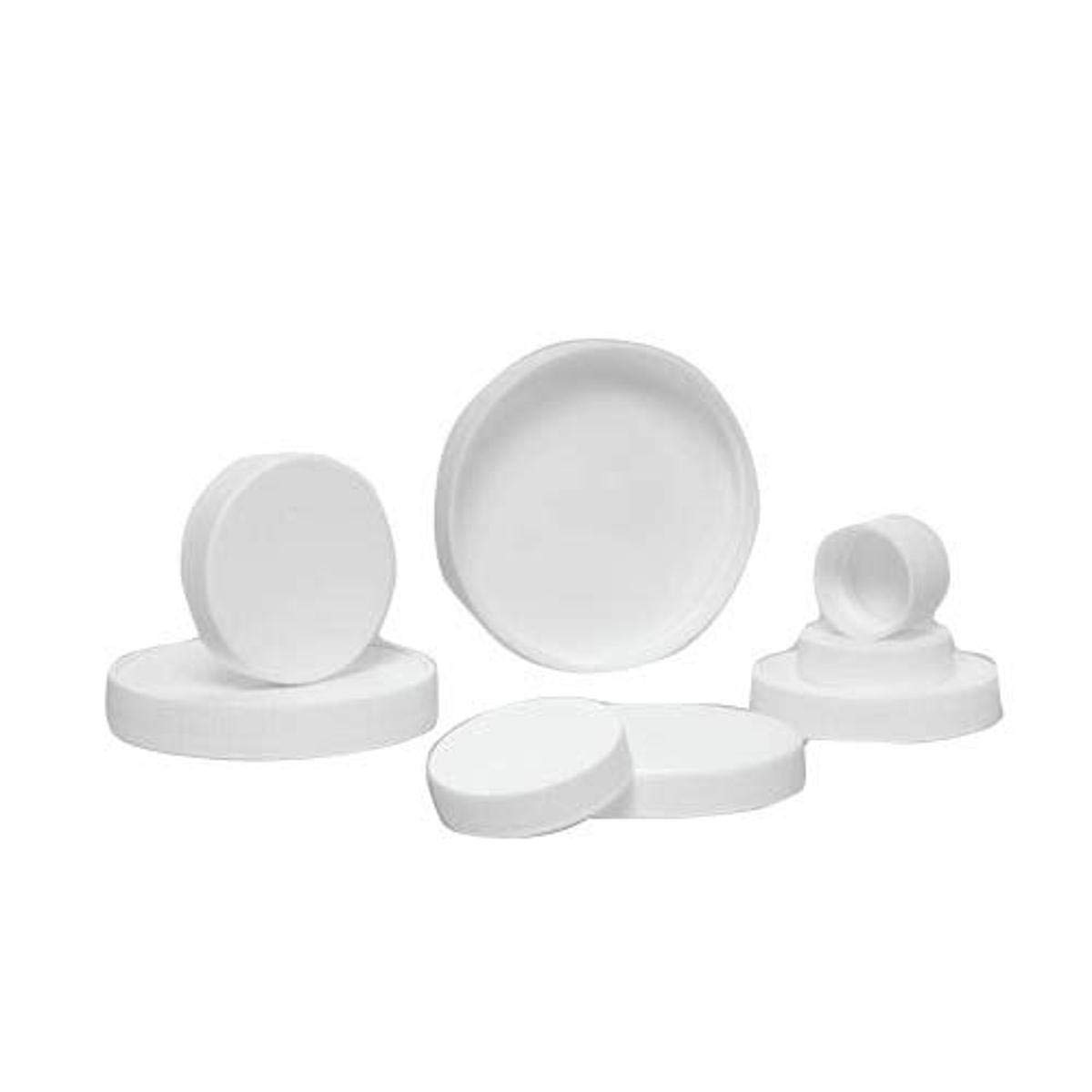 Qorpak CAP-00366 Ranking TOP14 38-400 White Ribbed Polypropylene Max 42% OFF Unlined Cap