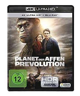 Planet der Affen: Prevolution (4K Ultra HD) (+ Blu-ray)