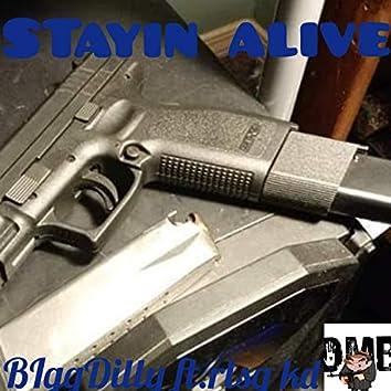 Stayin' Alive (feat. Rlsg KD)