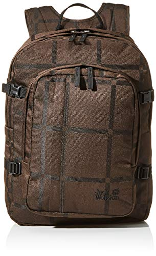Jack Wolfskin Berkeley Y.D Jours Sac à Dos, Daypacks Adulte Unisexe, Brown big Check, One Size