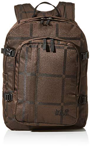 Jack Wolfskin Unisex-Erwachsene Berkeley Y.D Jours sac à dos Tagerucksack, Braun (brown big check), One Size