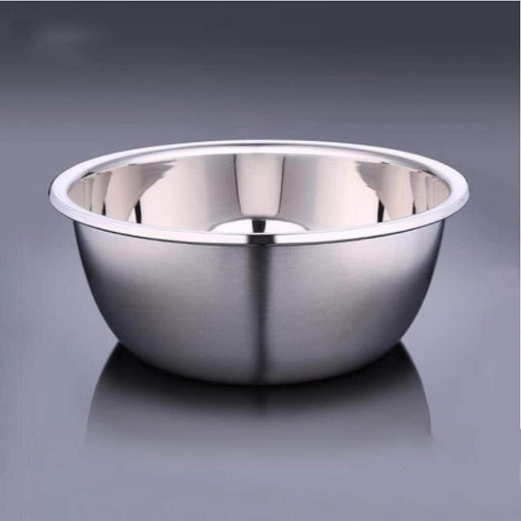 Max 87% OFF Stainless Steel Basin Thicker Surprise price Deepen Seasoning Big So Pots Round