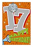 Depesche 5698.027 - Glückwunschkarte mit Musik, 17. Geburtstag