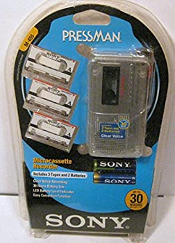 SONY M-455 Microcassette Recorder Value Pack  SONY M455