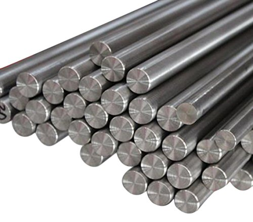 5pcs Dia 8mm 0.31' Length 100mm 3.94' TC4 Titanium 6al-4v Round Bar Rod