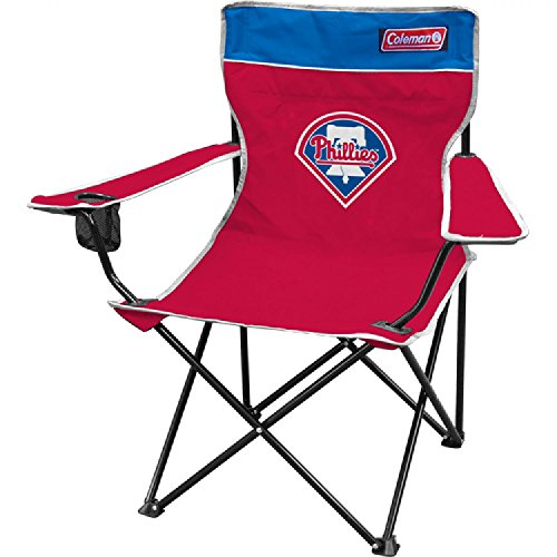 Coleman MLB Philadelphia Phillies Broadband Quad Chair