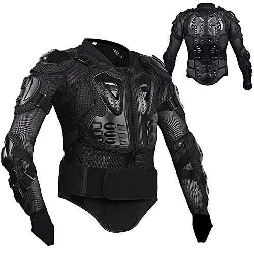 Motorcycle Full Body Armor Protective Gear Jacket Motocross MTB Sport Shirt