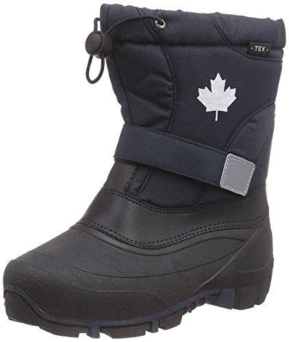 Indigo Canadians Jungen Winter Stiefel Boots 467-185 gefüttert in Dunkelblau (27)