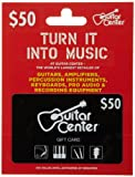 Guitar Center Gift Card $50