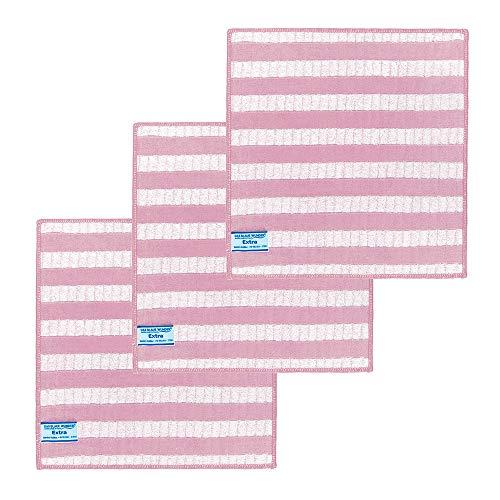 Das blaue Wunder Extra Spültuch 3er Set (rosa)