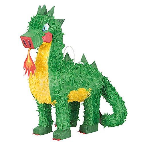 Piñata brandspeiender draak