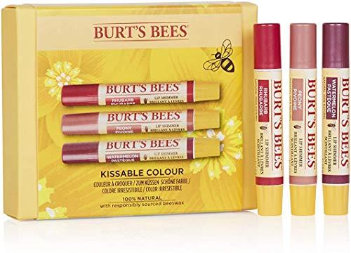 Burt's Bees Kissable Colour 100% natürliches feuchtigkeitsspendendes Geschenkset, 49 g