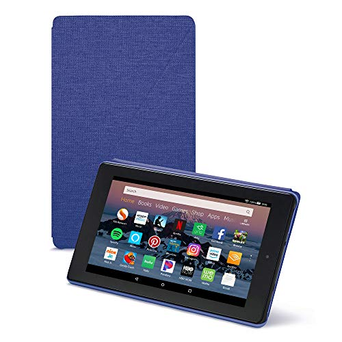 Amazon Fire HD 8 Tablet Case (Compatible with 7th and 8th Generation Tablets, 2017 and 2018 Releases), Cobalt Purple