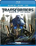 Transformers: Dark of the Moon (Blu-ray/DVD, 2012, 4-Disc Set) w/ LENTI Slip
