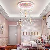 WHEEJE Nordic Dormitorio de Chicas Decoración Luces LED for la Sala de iluminación de la lámpara de Interior Lámparas de Techo Lámparas for la decoración de la Sala de Estar