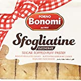 Bonomi Sfogliatine Zuccherate Sugar Topped Puff Pastry 200g