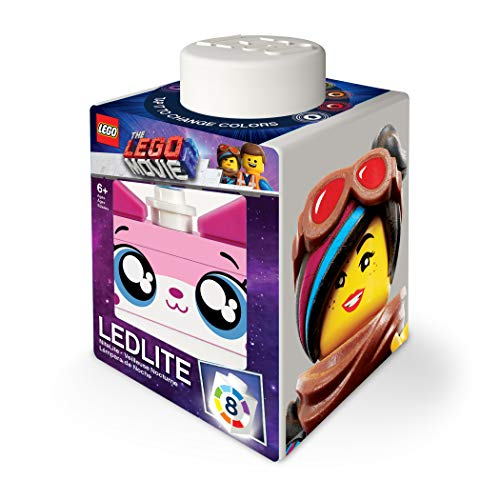 LEGO The Movie 2 1x1 Silicone Brick NiteLite - Unikitty, Angry Kitty, Lucy, Sweet Mayhem