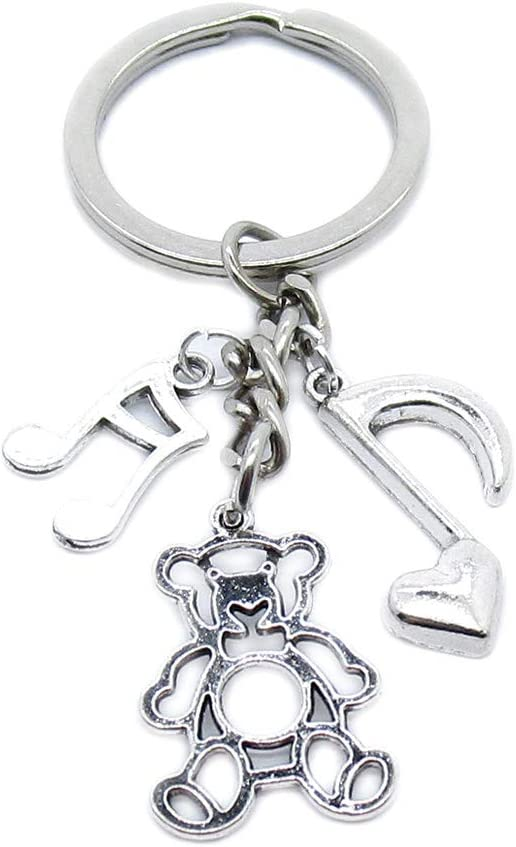 100 Pieces Keyring Keychain Wholesale Suppliers Charlotte Mall Clasps B New arrival Jewelry