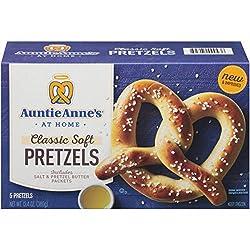 Auntie Anne's Classic Soft Pretzels, 5 Count (Frozen)