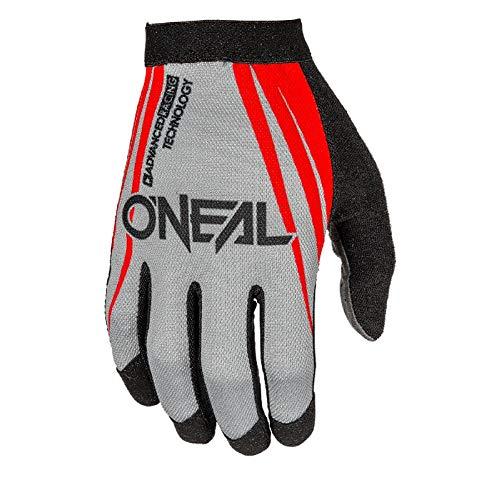 O'neal AMX MX DH FR Fahrrad Handschuhe lang Blocker grau/rot 2017 Oneal: Größe: M (8,5)