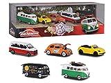 Majorette - Volkswagen Giftpack - Voitures Miniatures en Métal - Coffret 5 Véhicules - 212057615
