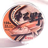 Grees 0.23mm Monofilament Fishing Line,Superior Mono Nylon Fish Line Great Substitute for...