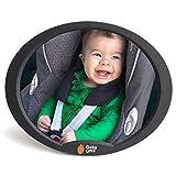 Babyspiegel für Autositz, benutzen Sie diesen Autospiegel, um Ihr Kind in der Babyschale zu beobachten, beste Qualität Rücksitzspiegel von EZ-Bugz (Farbe Schwarz)
