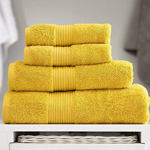 Deyongs Bliss - Toalla de baño (650 g/m²), color mostaza