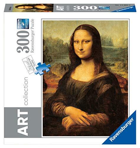 Ravensburger 14005 Leonardo La Gioconda, Puzzle 300 pezzi, Art Collection, Puzzle per Adulti e Ragazzi