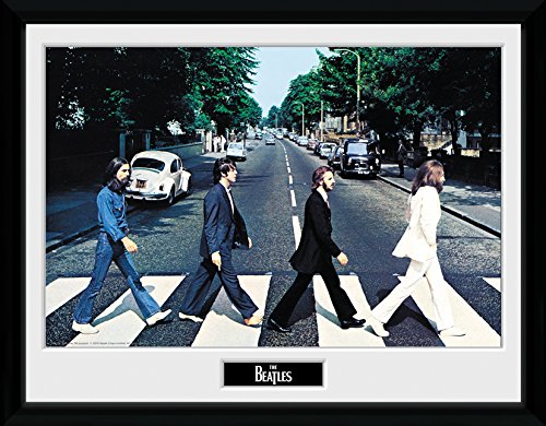 GB Eye Gerahmtes Foto The Beatles Abbey Road, 40 x 30 cm