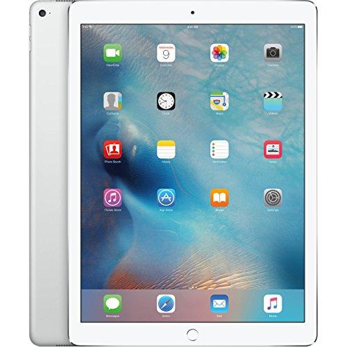 Apple iPad Pro 12.9in Tablet (256GB Wi-FI, Silver)(Renewed)