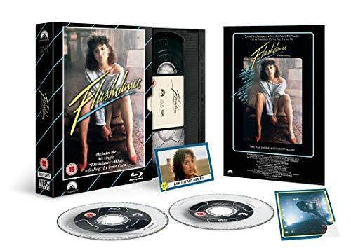 Flashdance Limited Edition Blu Ray/ VHS Packaging / Import / Region Free Blu Ray