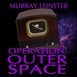 Operation Outer Space audiobook cover art