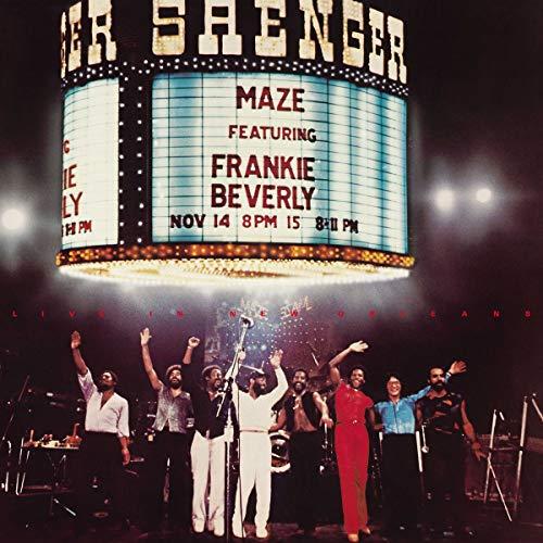 Frankie Beverly: Live in New Orleans (2LP) [Vinyl LP] (Vinyl (Live))