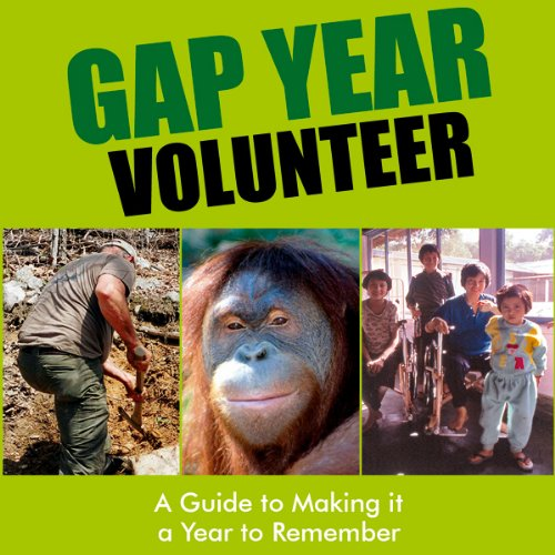 Gap Year Volunteer audiobook cover art