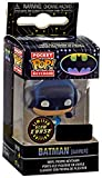 Funko Pocket Pop! Keychain: Batman Gamer Limited Edition Glow in The Dark Chase Exclusive