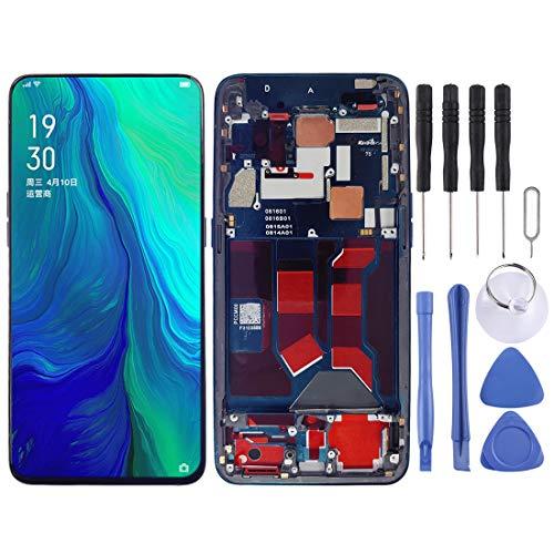 ASAMOAH Display LCD sostitutivo del Telefono Cellulare Schermo LCD e digitalizzatore Assemblaggio Completo con Cornice per Oppo Reno Zoom 10x