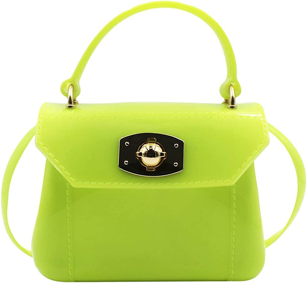 Little Challenge the lowest price Girls Purse Small Candy Bag Color Crossbody Max 52% OFF Jelly Satchel