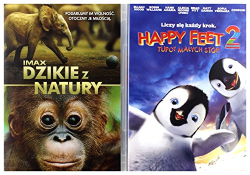 Happy Feet 2 / Dzikie z natury [2 DVD Box] [PL Import]