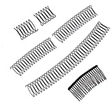 MMENG U Shape Hair Finishing Fixer Comb, Bobby Pins Mini Bangs Holder Styling Tool, Women and Girls Hairstyle Hair Accessories 6pcs