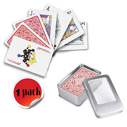 Weekend&Lifecan WasserdichWasserdichtes Pokerkarten, Spielkarten Profi, Spielkarte, Playing Cards, pokerkarten, Poker Karten, Top Qualität Plastic Poker