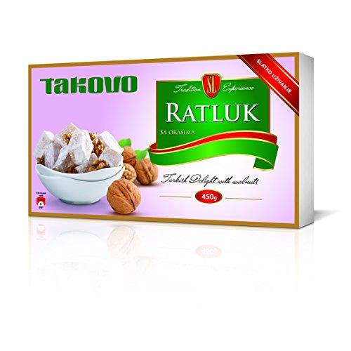 Swisslion-Takovo Ratluk mit Walnüssen, 2er Pack (2 x 450 g)