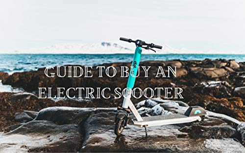 Guide To Buy An Electric Scooter: Buying Guide (English Edition)