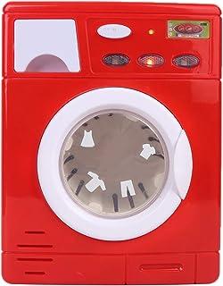 Longzhuo Tvättmaskin barnleksak, mini simulering tvättmaskin barnapparat elektrisk tvättmaskin leksaker gåva (5502)