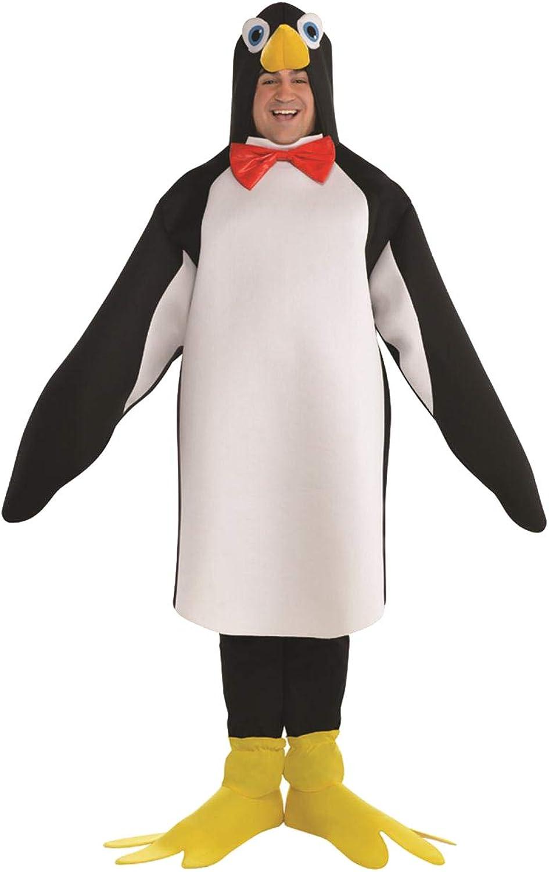 SP Funworld Men's Penguin Costume Size Medium with 3D Nose,Boots