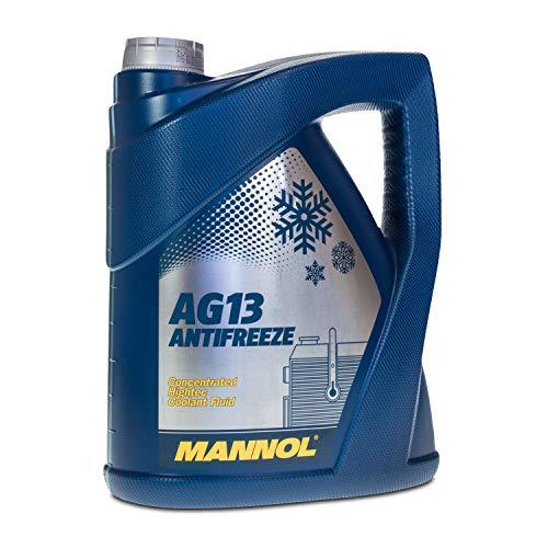 MANNOL Antifreeze AG13 Hightec Kühlerfrostschutz Kühlmittel 5L MN4113-5