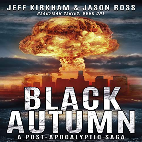 Black Autumn audiobook cover art