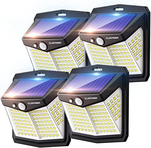 Apliques Exteriores Solares Con Sensor apliques exterior  Marca Claoner